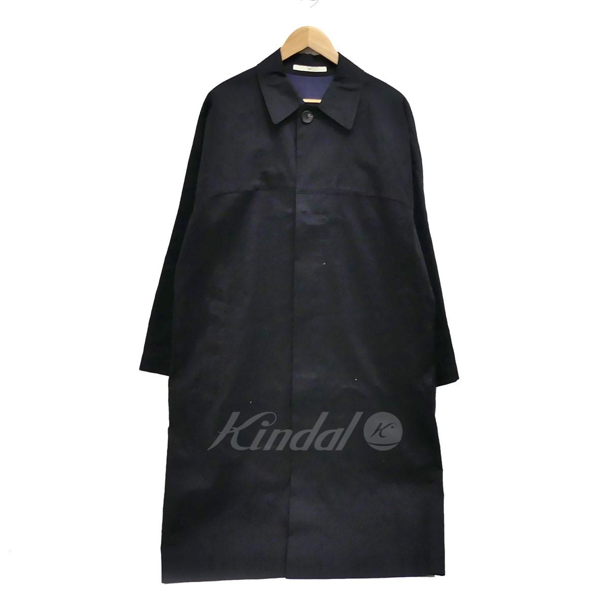 【中古】N4 ステンカラーコート ブラック サイズ:2 【送料無料】 【210319】(エヌフォー)
