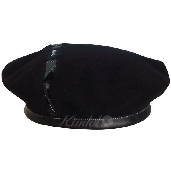 【中古】ENSOU Zizou Beret 地蔵帽 1950年代 フランス軍 ベレー帽 ブラック 【送料無料】 【210319】(エンソウ)