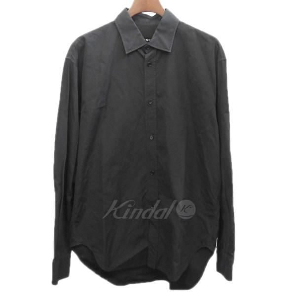 オーバーサイズシャツ 【KIND1715】 【中古】 【094909】 BALENCIAGA 18SS