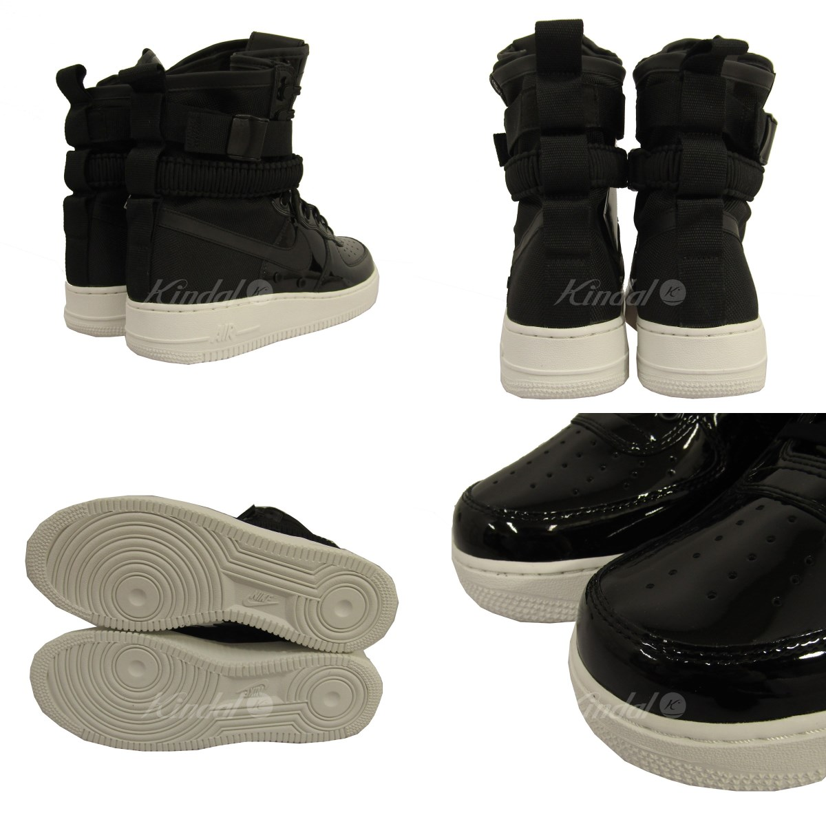 the latest 46c11 aeb69 NIKE W SF AF1 SE PRM AIR FORCE 1 higher frequency elimination sneakers  black size: 29cm (Nike)