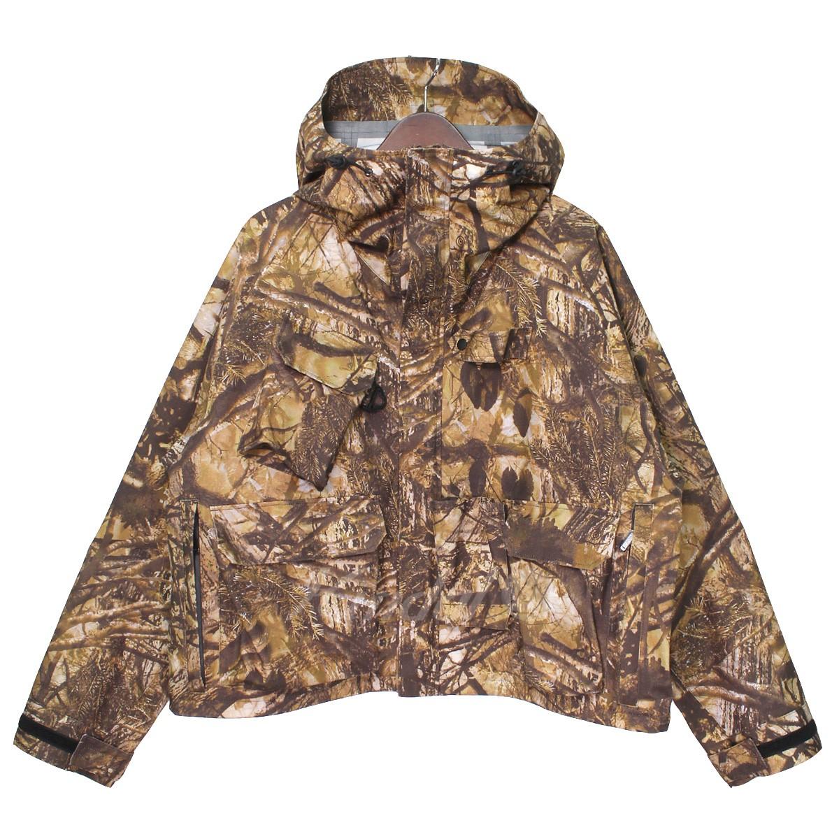 【中古】South2 West8 S2W8 NEPENTHES 18AW river trek jacket リアルツリーマウンテンショートジャケット カーキブラウン サイズ:M 【送料無料】 【240319】(サウスツーウエストエイト ネペンテス)