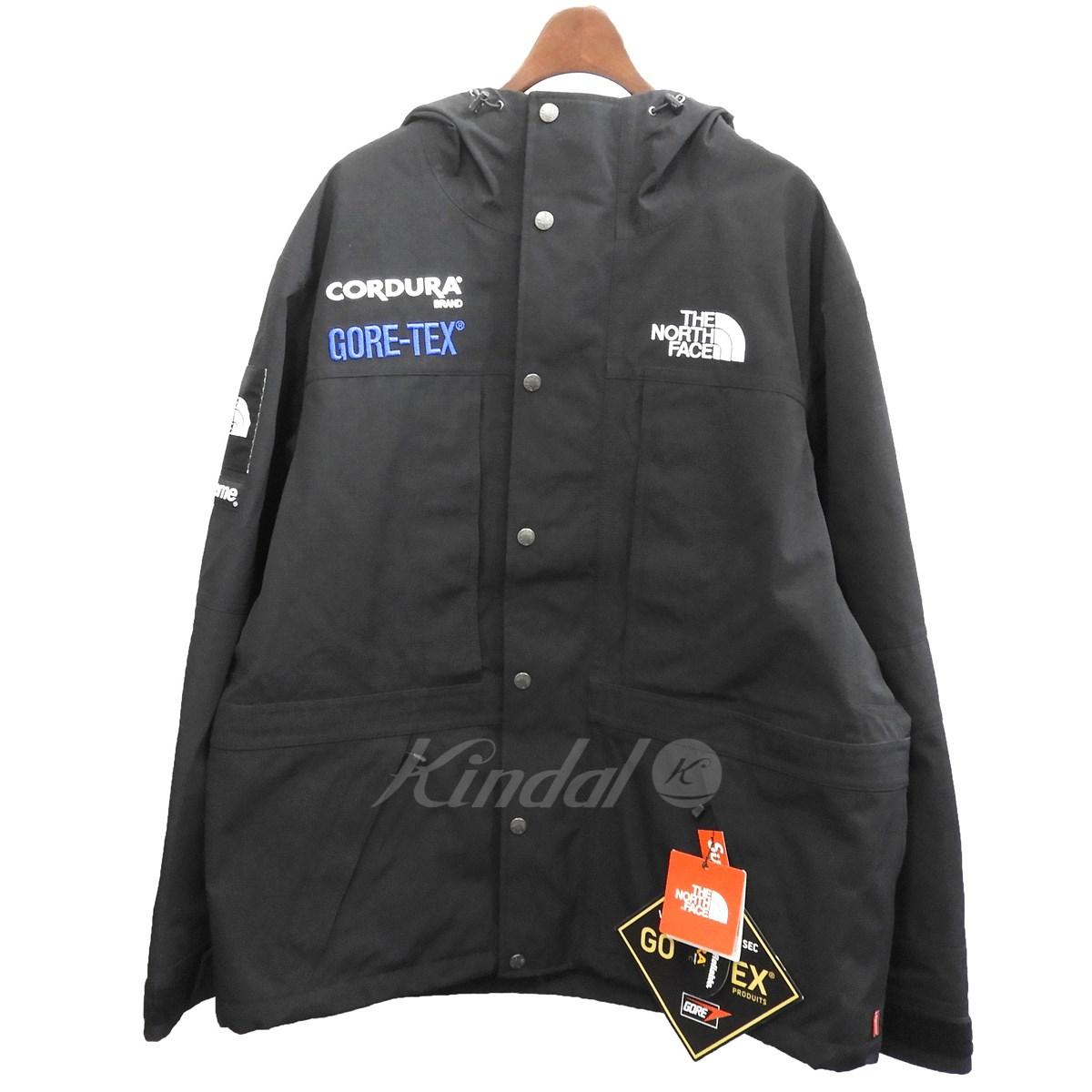 【中古】Supreme×THE NORTH FACE 2018AW 「Expedition Jacket」GORE-TEXエクスペディションジャケット ブラック サイズ:L 【送料無料】 【280319】(シュプリーム ノースフェイス)