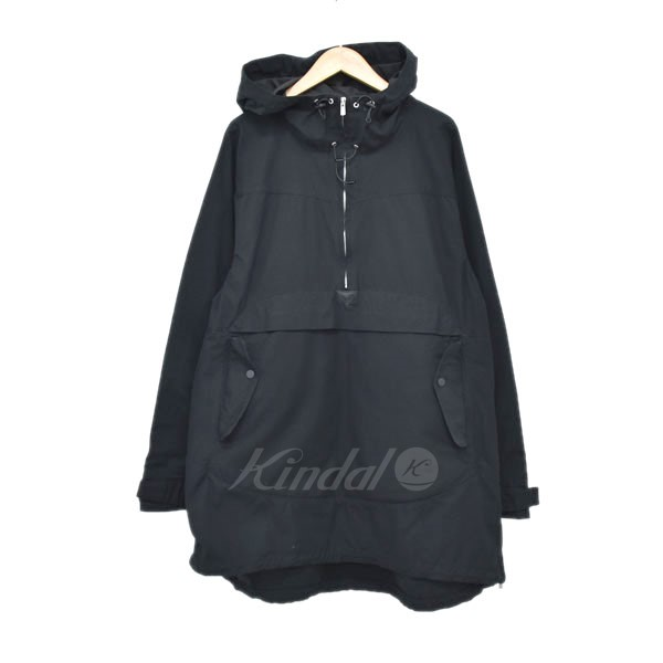 【中古】nonnative 15AW STROLLER HOODED PULLOVER COTTON RIPSTOP コート ブラック サイズ:2 【280319】(ノンネイティブ)