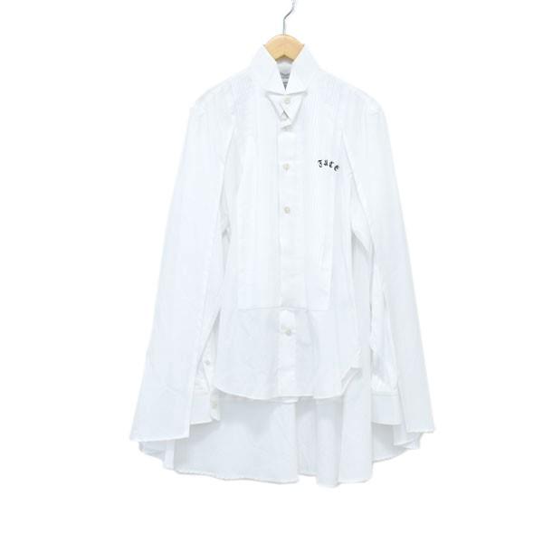 【中古】FACETASM シャツ ホワイト サイズ:3 【280319】(ファセッタズム)