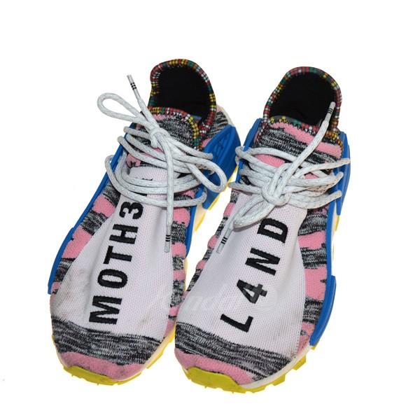 【中古】adidas Pharrell Williams AFRO SOLAR HU NMD スニーカー マルチカラー サイズ:27cm 【送料無料】 【280319】(アディダス)