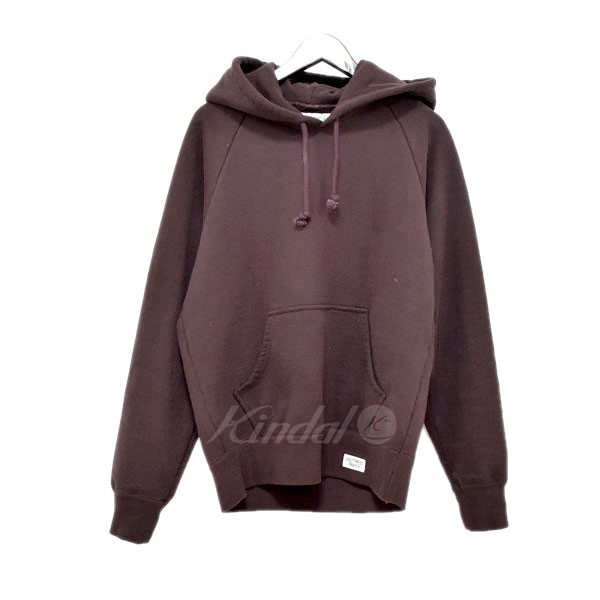 【中古】WACKO MARIA 18AW WASHED HEAVY WEIGHT PULLOVER HOODED SWEAT ダークレッド サイズ:S 【送料無料】 【290319】(ワコマリア)