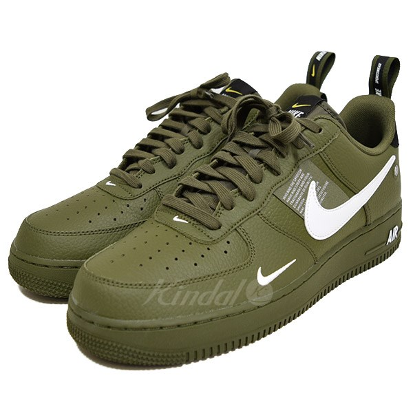 NIKE AIR FORCE 1 07 LV8 UTILITY Air Force One AJ7747 300 olive size: 28 5 (Nike)
