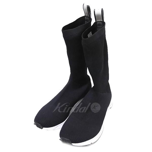 【中古】Reebok SOCK RUNNER ULTK ブーツ スニーカー ブラック サイズ:26.5cm 【送料無料】 【300319】(リーボック)