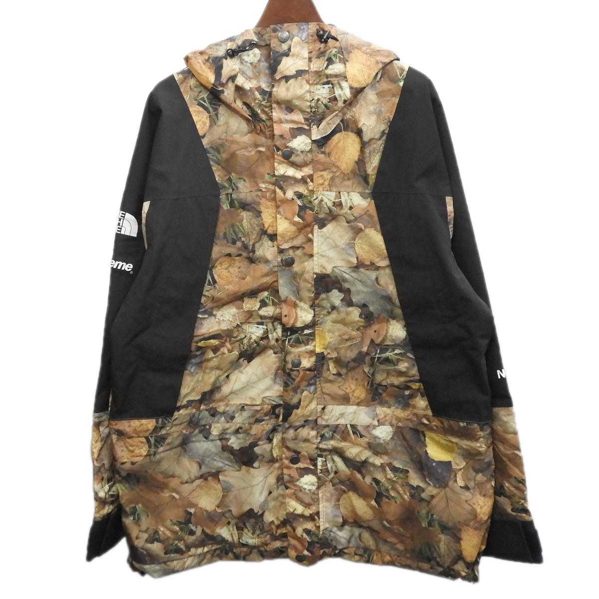 【中古】Supreme×THE NORTH FACE 2016AW 「Mountain Light Jacket」枯葉マウンテンライトジャケット リーブス サイズ:M 【送料無料】 【300319】(シュプリーム ノースフェイス)