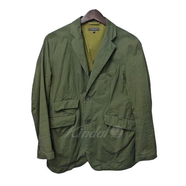 【中古】Engineered Garments コットンアンドーバージャケット オリーブ サイズ:XS 【送料無料】 【290319】(エンジニアードガーメンツ)