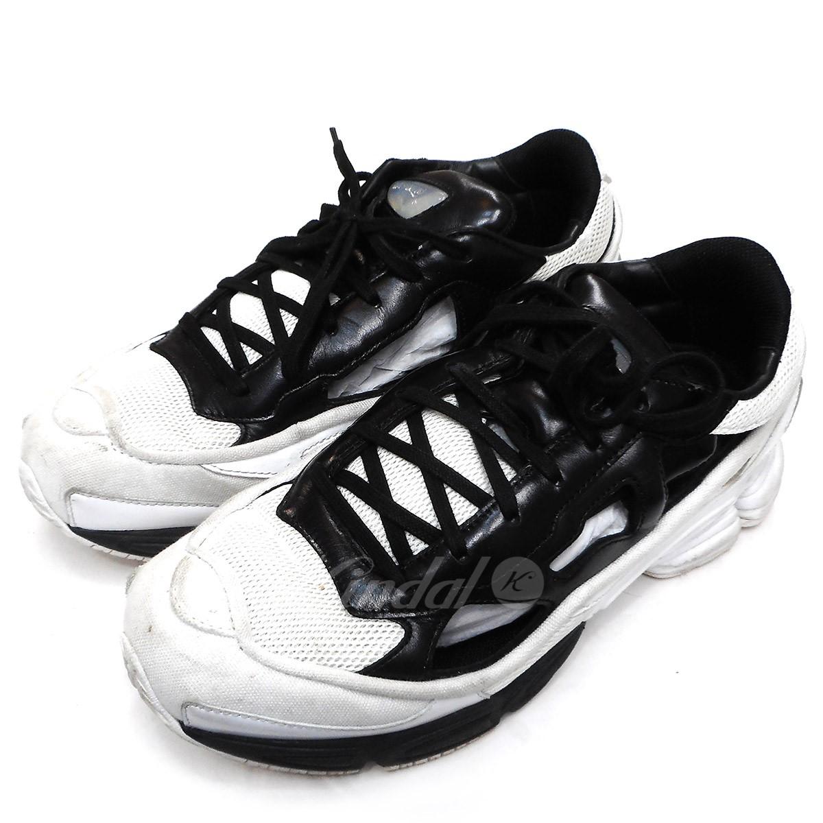 【中古】adidas by RAF SIMONS RS REPRICANT OZWEEGO ブラック×ホワイト サイズ:US8 【送料無料】 【290319】(アディダスバイラフシモンズ)