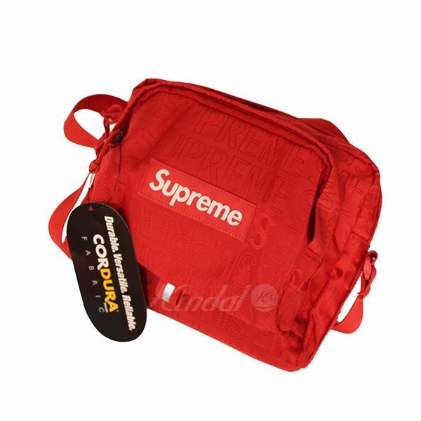 【中古】SUPREME 2019SS Shoulder Bag ショルダーバッグ レッド サイズ:- 【送料無料】 【290319】(シュプリーム)
