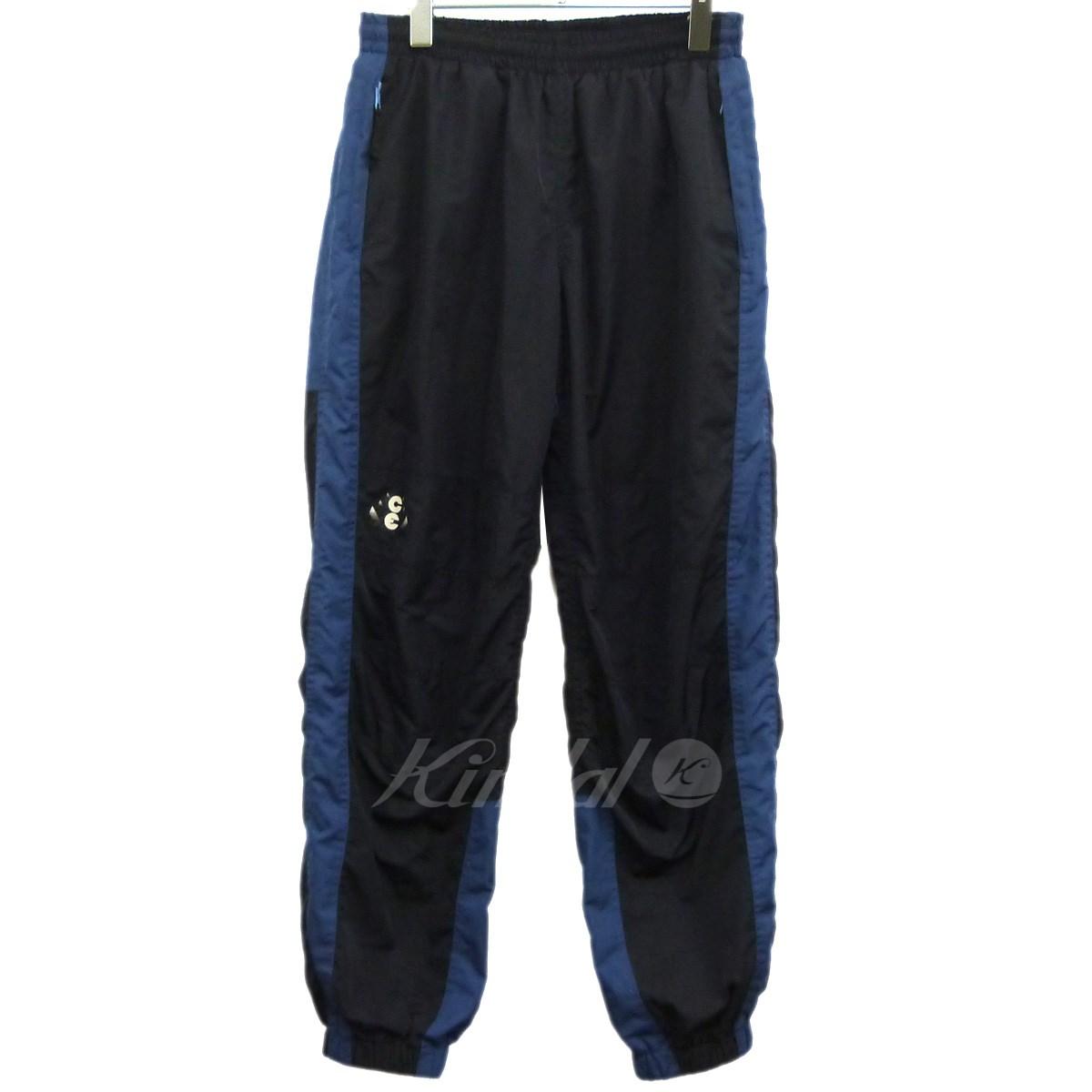 【中古】C.E 14AW「WARM UP PANTS」ウォームアップパンツ ネイビー×ブルー サイズ:M 【送料無料】 【010419】(シーイー)