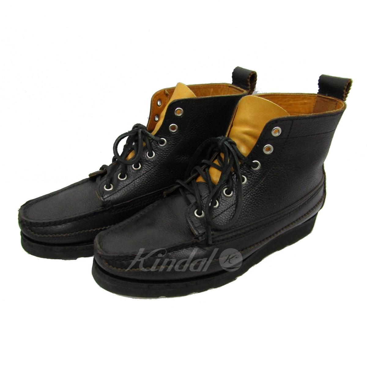 【中古】YUKETEN 07205P DREES HUNTER BOOTS ハンターブーツ ブラック サイズ:8E 【送料無料】 【010419】(ユケテン)