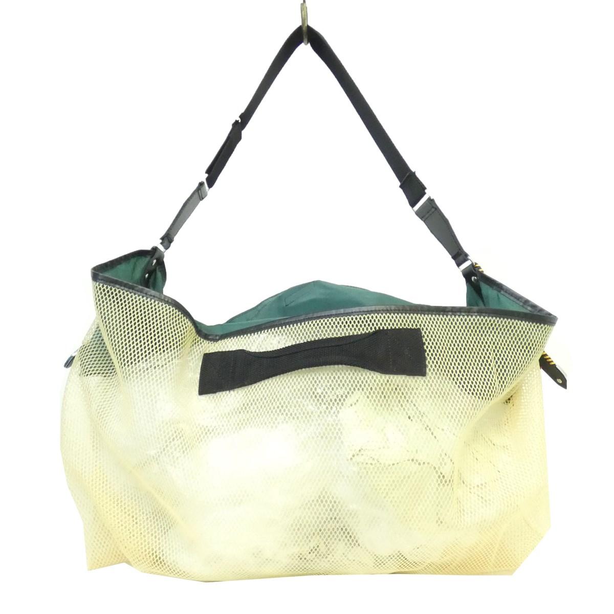 【中古】TOGA VIRILIS 19SS 「mesh bag」 2wayメッシュショルダーバッグ グリーン×イエロー サイズ:- 【送料無料】 【020419】(トーガ ヴィリリース)