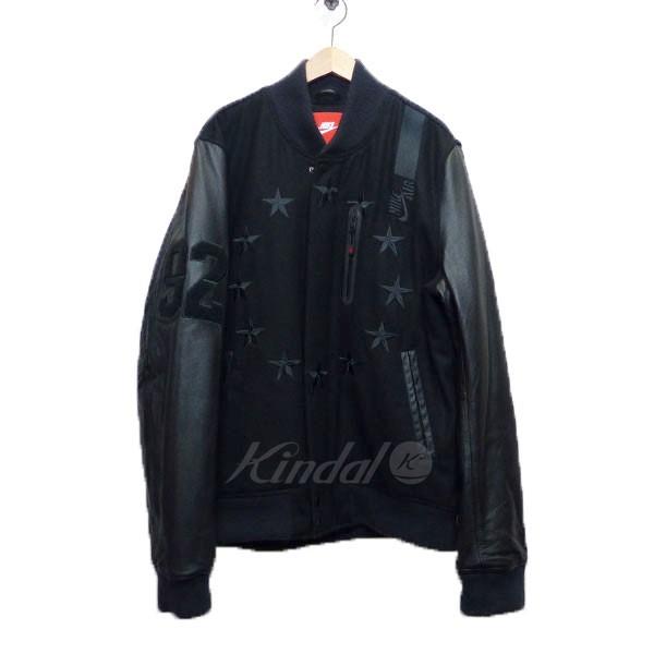 【中古】NIKE ナイキ スタジャン ブルゾン AIR DESTROYER JACKET ブラック サイズ:XL 【送料無料】 【020419】(ナイキ)