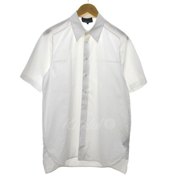 【中古】3.1 phillip lim 半袖ドレスシャツ ホワイト サイズ:S 【送料無料】 【040419】(スリーワンフィリップリム)