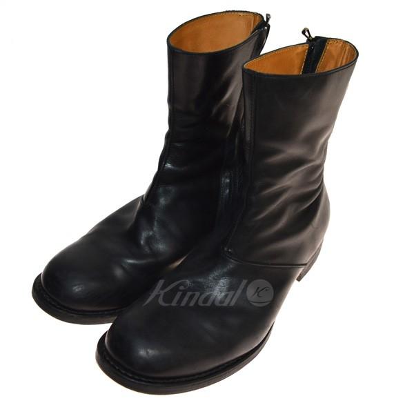 【中古】VADEL ツイストジップブーツ ブラック サイズ:41 【送料無料】 【040419】(バデル)