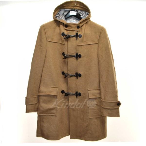 【中古】THOM BROWNE 2014AW duffle coat in camel ダッフルコート キャメル サイズ:3 【送料無料】 【080419】(トム・ブラウン)