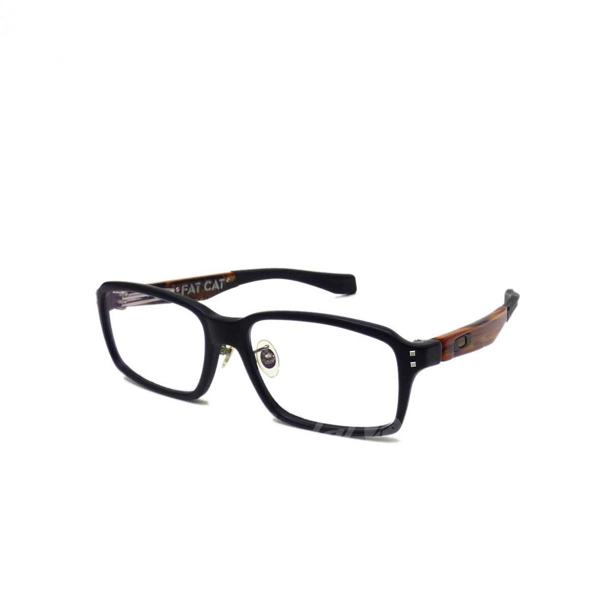 【中古】OAKLEY FATCAT メガネ ブラック サイズ:54□17 140 【送料無料】 【080419】(オークリー)