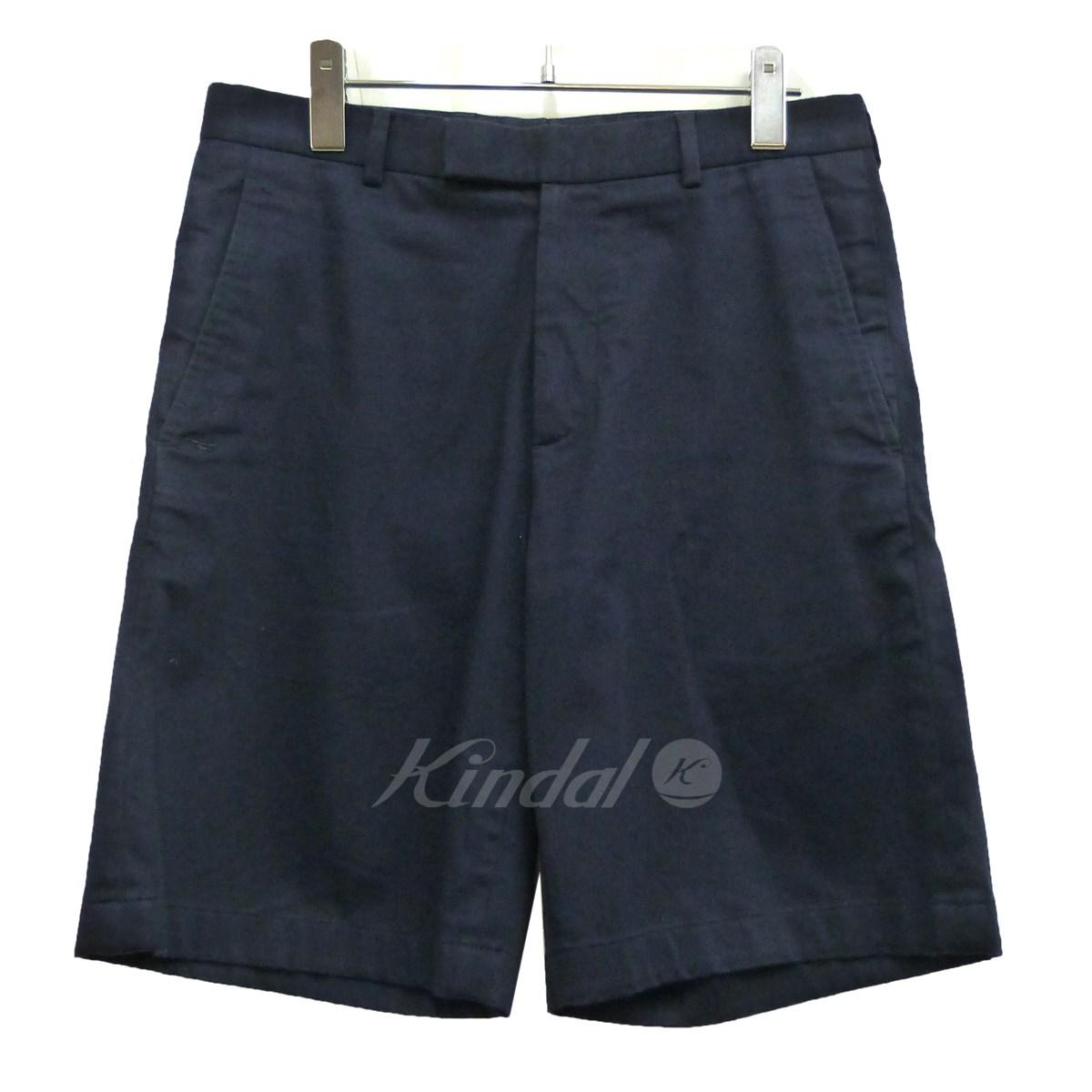 【中古】Dior Homme ショートパンツ ネイビー サイズ:44 【送料無料】 【080419】(ディオールオム)