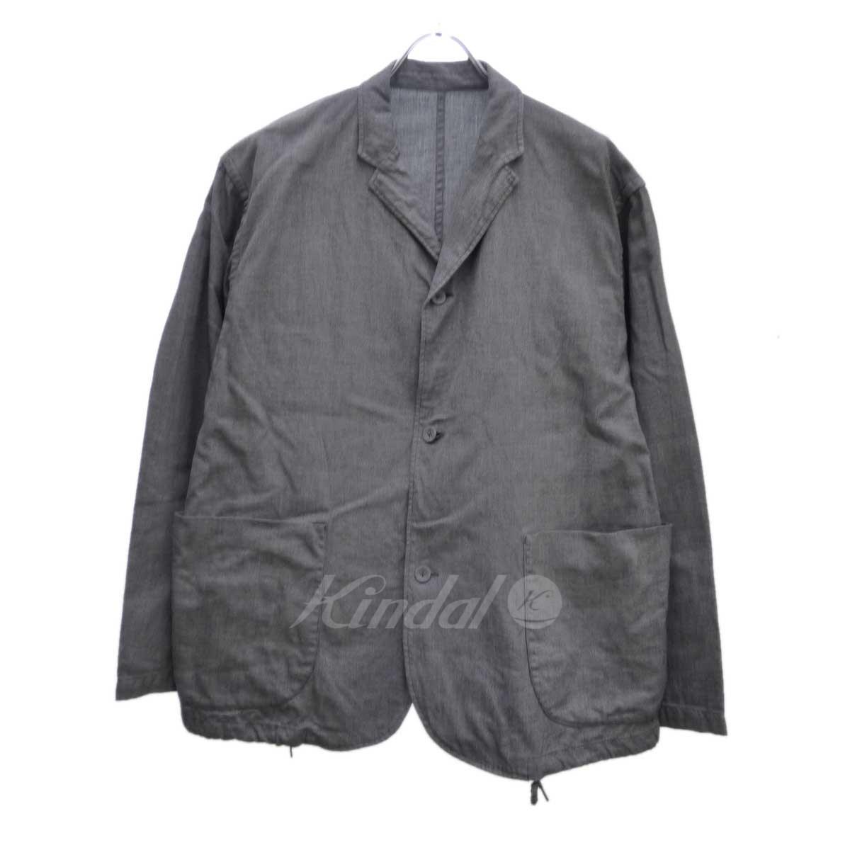 【中古】BRU NA BOINNE ブロラハンシャークシャツ ライトグレー サイズ:1 【送料無料】 【090419】(ブルーナボイン)