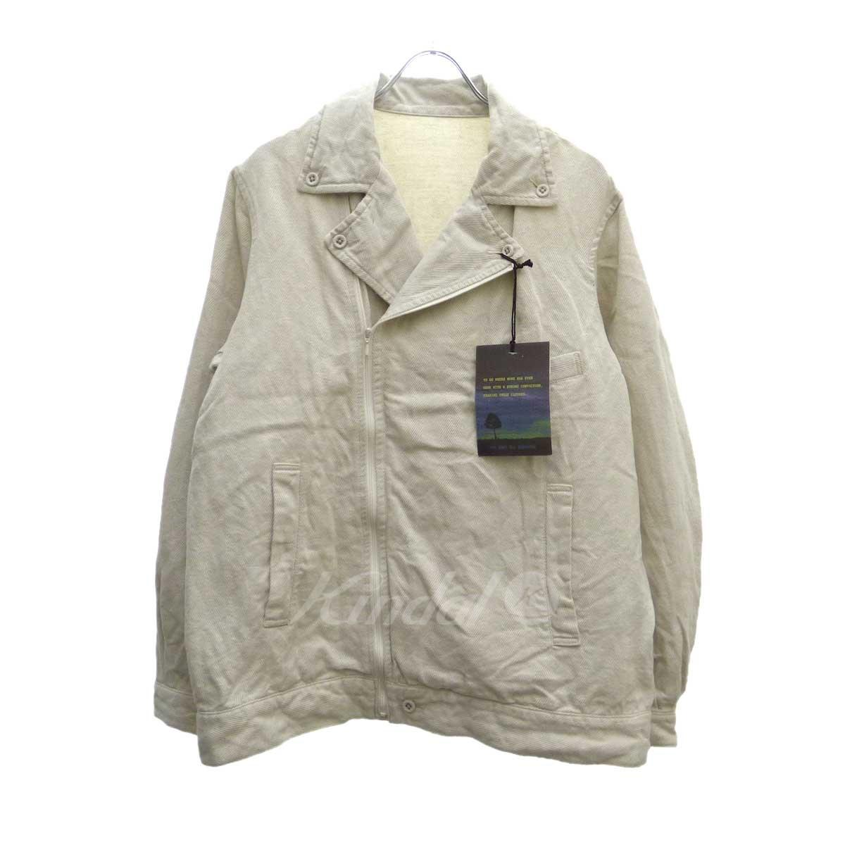 【中古】BRU NA BOINNE バルヅァライダースジャケット オフホワイト サイズ:1 【090419】(ブルーナボイン)