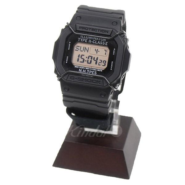 【中古】N.HOOLYWOOD×G-SHOCK DW-D5600NH 腕時計 ブラック 【送料無料】 【080419】(エヌハリウッド ジーショック)