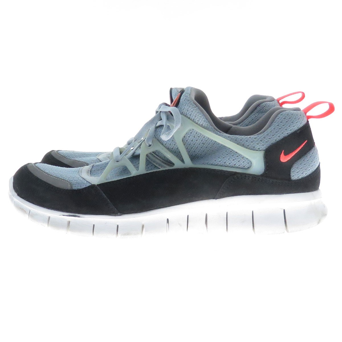 NIKE FREE HUARACHE LIGHT フリーハラチライトグレー X black size: 27 5cm (Nike)