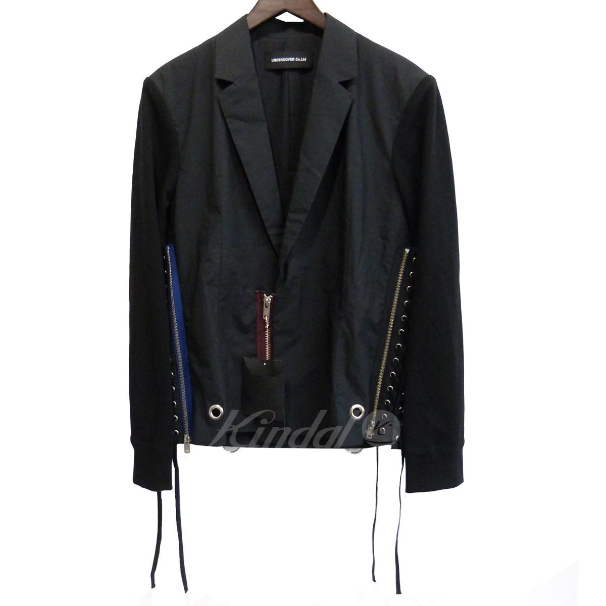 【10月31日 お値段見直しました】【中古】UNDERCOVER19SS ベストジャケット ブラック サイズ:2