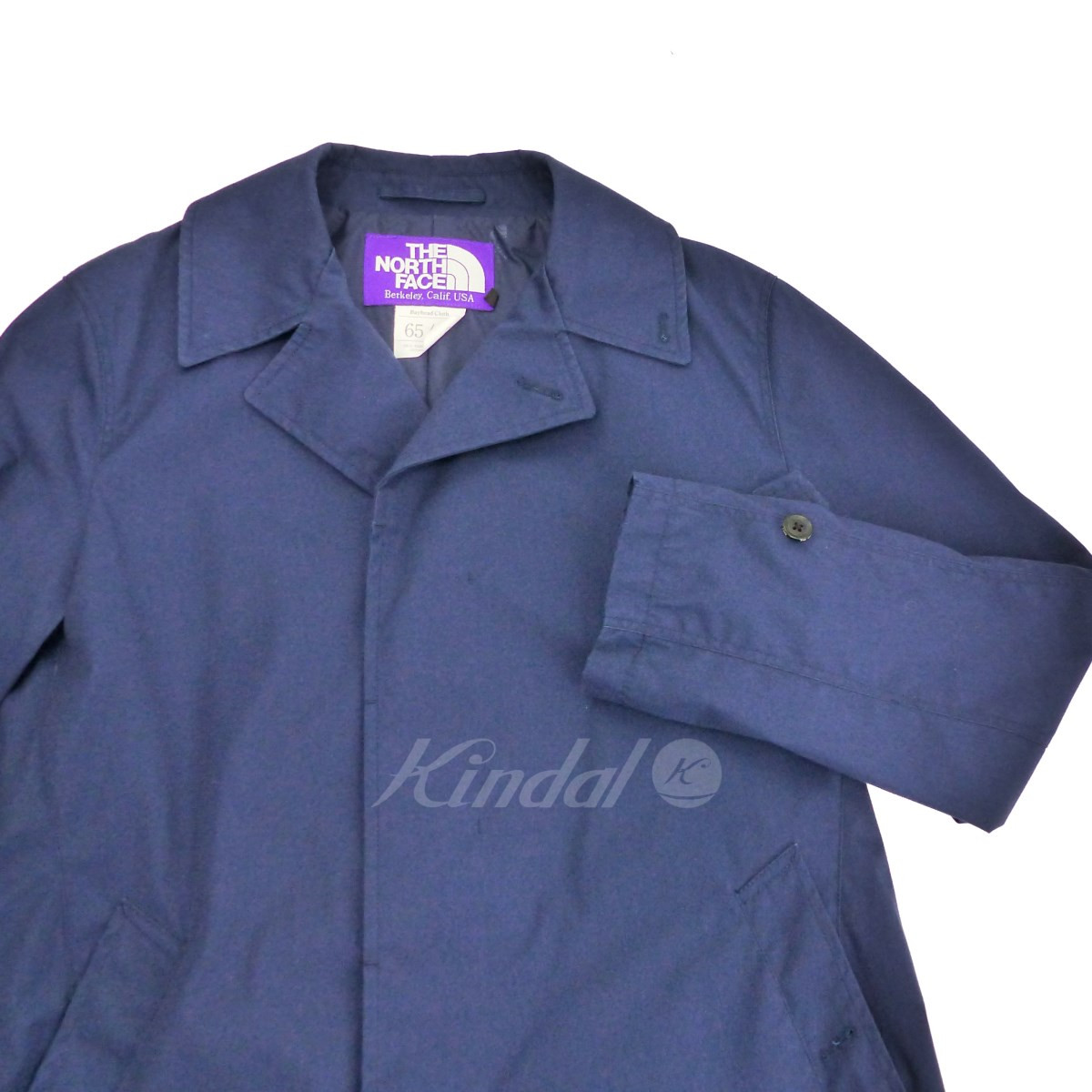 0ea6b0f12 THE NORTH FACE PURPLE LABEL 2017SS BEAMS comment convertible collar coat  navy size: M (the North Face purple label)