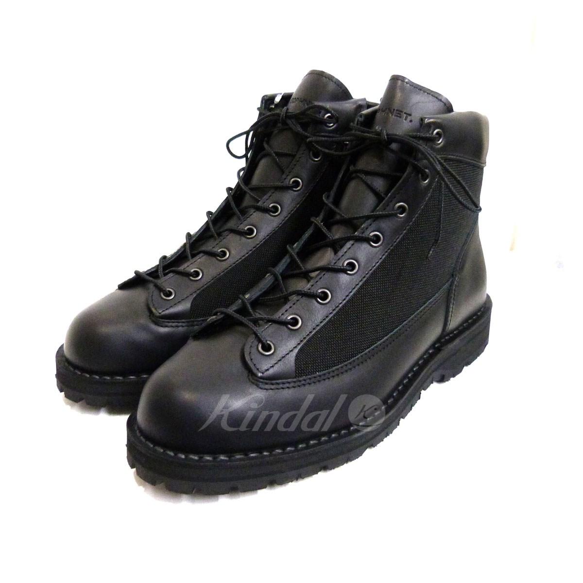 【中古】SOPHNET.× Danner 18AW「ZIP UP BOOTS」マウンテンブーツ ブラック サイズ:28cm 【送料無料】 【100419】(ソフネット×ダナー)