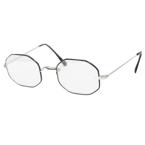 【中古】OLIVER GOLDSMITH Oliver Octag 眼鏡 メガネ ブラック×シルバー サイズ:46□21-148 【送料無料】 【130419】(オリバーゴールドスミス)