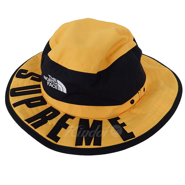 354cad3b SUPREME X THE NORTH FACE 19SS Arc Logo Horizon Breeze Hat yellow size: LXL  ...
