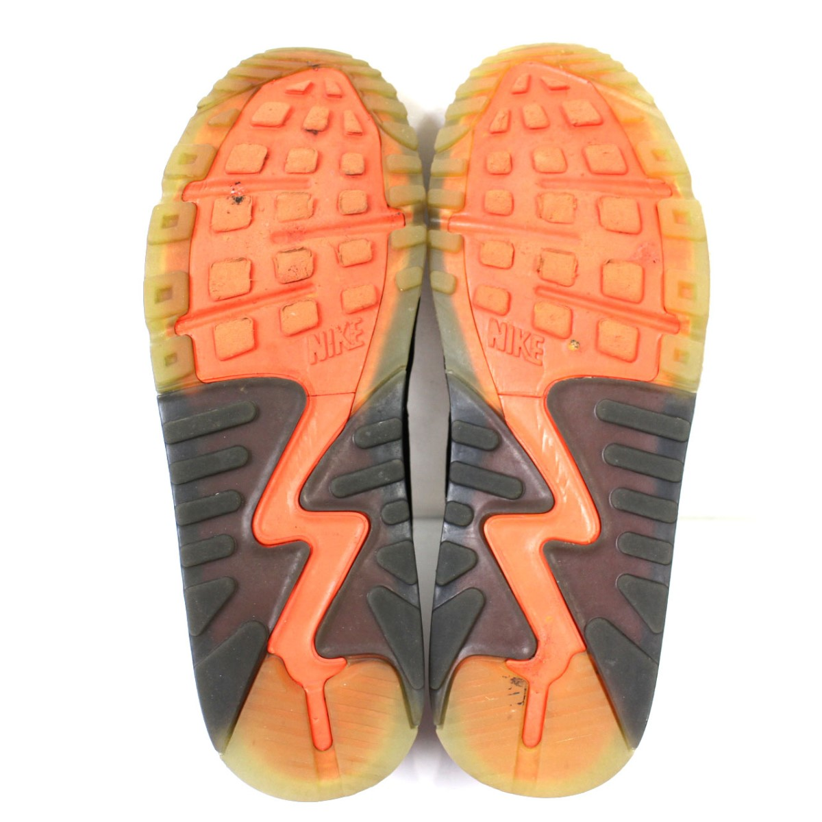 NIKE AIR MAX 90 ICE 717,942 006 sneakers shoes orange X black other size: 27cm (Nike)