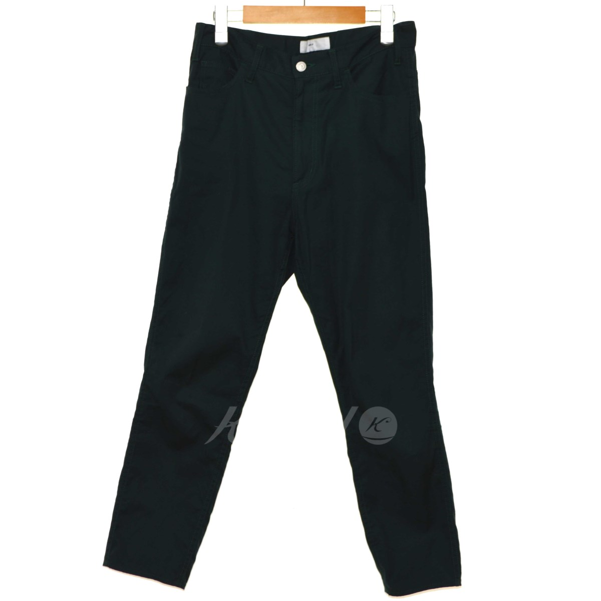 【中古】TOGA VIRILIS 2018SS Stretch Cotton Pants ストレッチコットンパンツ グリーン サイズ:44 【160419】(トーガ ヴィリリース)