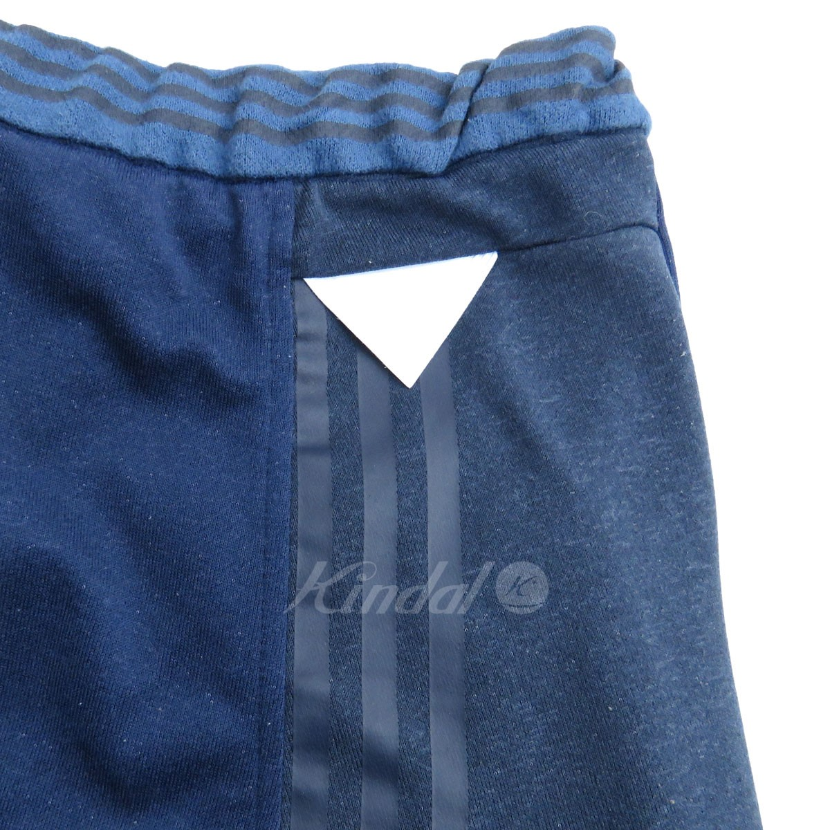 adidas Originals by White Mountaineering sweat shirt shorts short pants navy size: M (??????????????????????????)