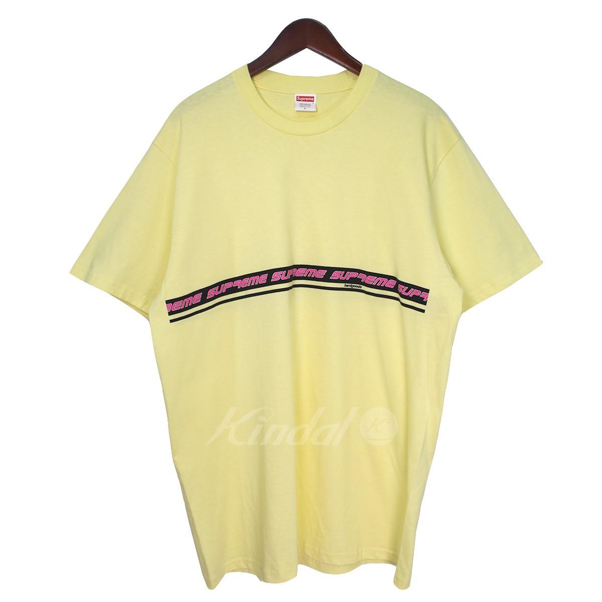 3dae04f39b3b SUPREME 19SS Hard Goods Tee hard goods line logo T-shirt yellow size: L ...