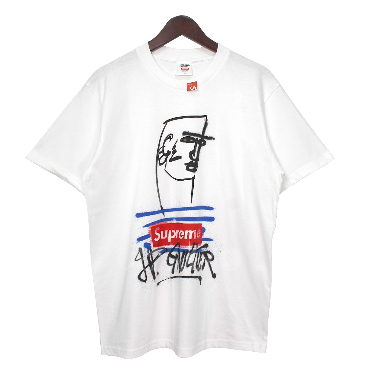 offer discounts new lower prices official supplier Supreme X Jean Paul Gaultier 19SS Jean Paul Gaultier Tee box logo T-shirt  white size: S (シュプリーム X ジャンポールゴルチェ)
