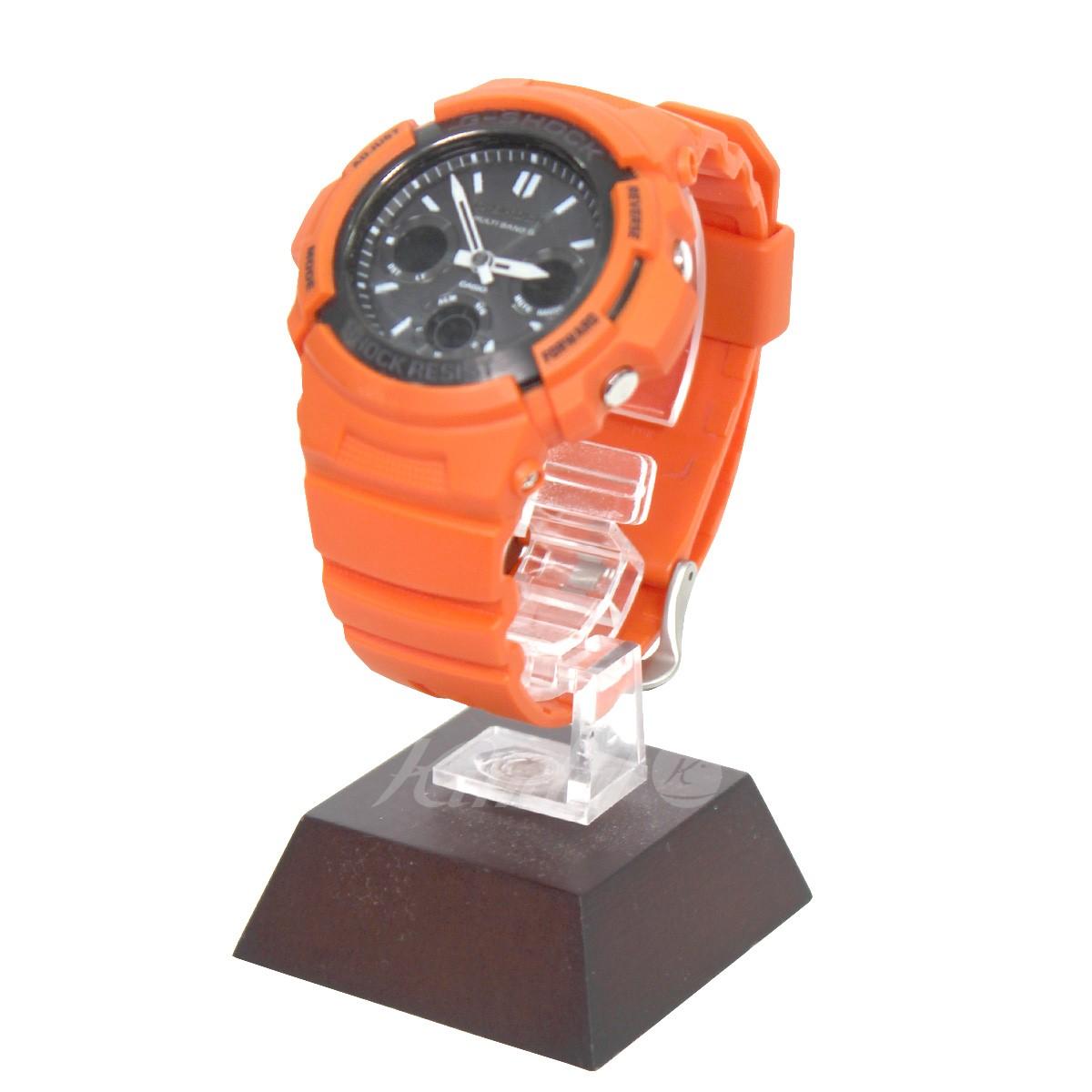 【中古】CASIO G-SHOCK AWG-M100MR-4AJF 腕時計 レスキューオレンジ サイズ:- 【送料無料】 【170419】(カシオ)
