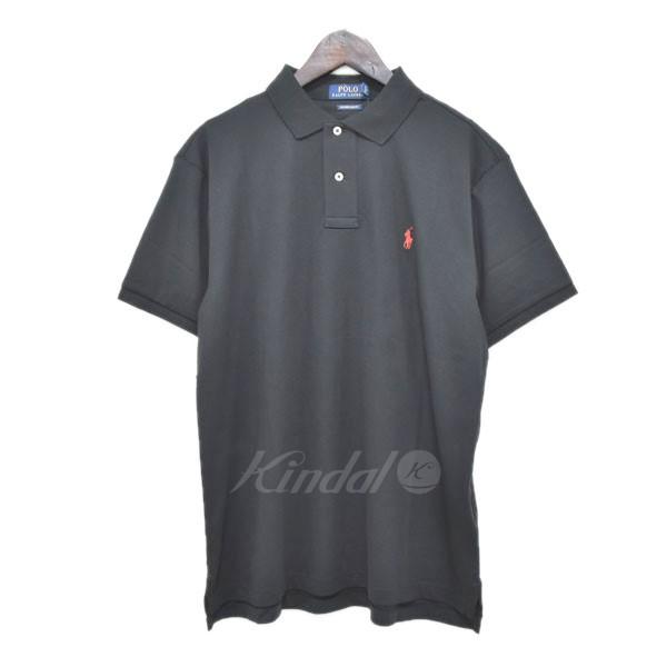 e309b3c665776 ... ポロラルフローレン  中古 POLO RALPH LAUREN 半袖ポロシャツ ブラック サイズ:L