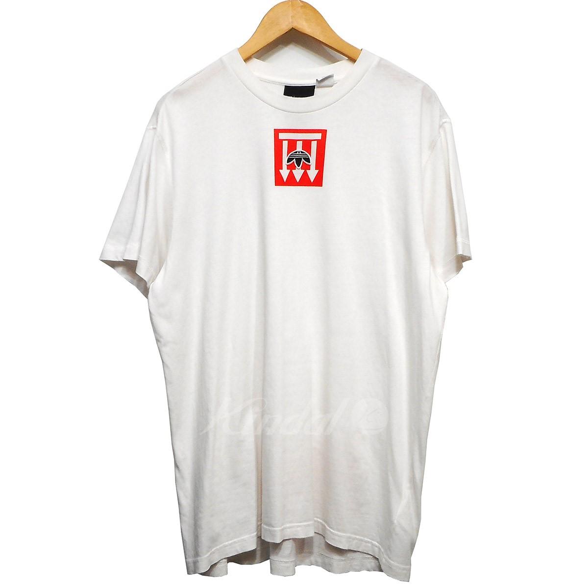 465b8c52 adidas originals by Alexander Wang 18SS AW Graphic Tee print T-shirt white  size: ...