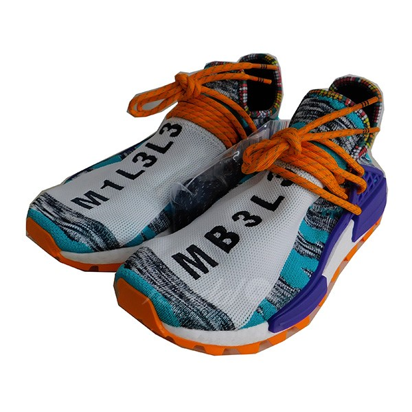 timeless design e744b 39b95 adidas X Pharrell Williams Solar HU NMD SUPCOL N M D sneakers multicolored  size: 26. 5cm (Adidas Farrell Williams)