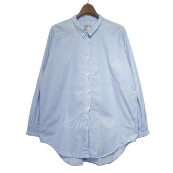 【中古】GALLEGO DESPORTES 2017SS「POPLIN」ポプリンシャツ ブルー サイズ:S 【200419】(ギャレゴデスポート)