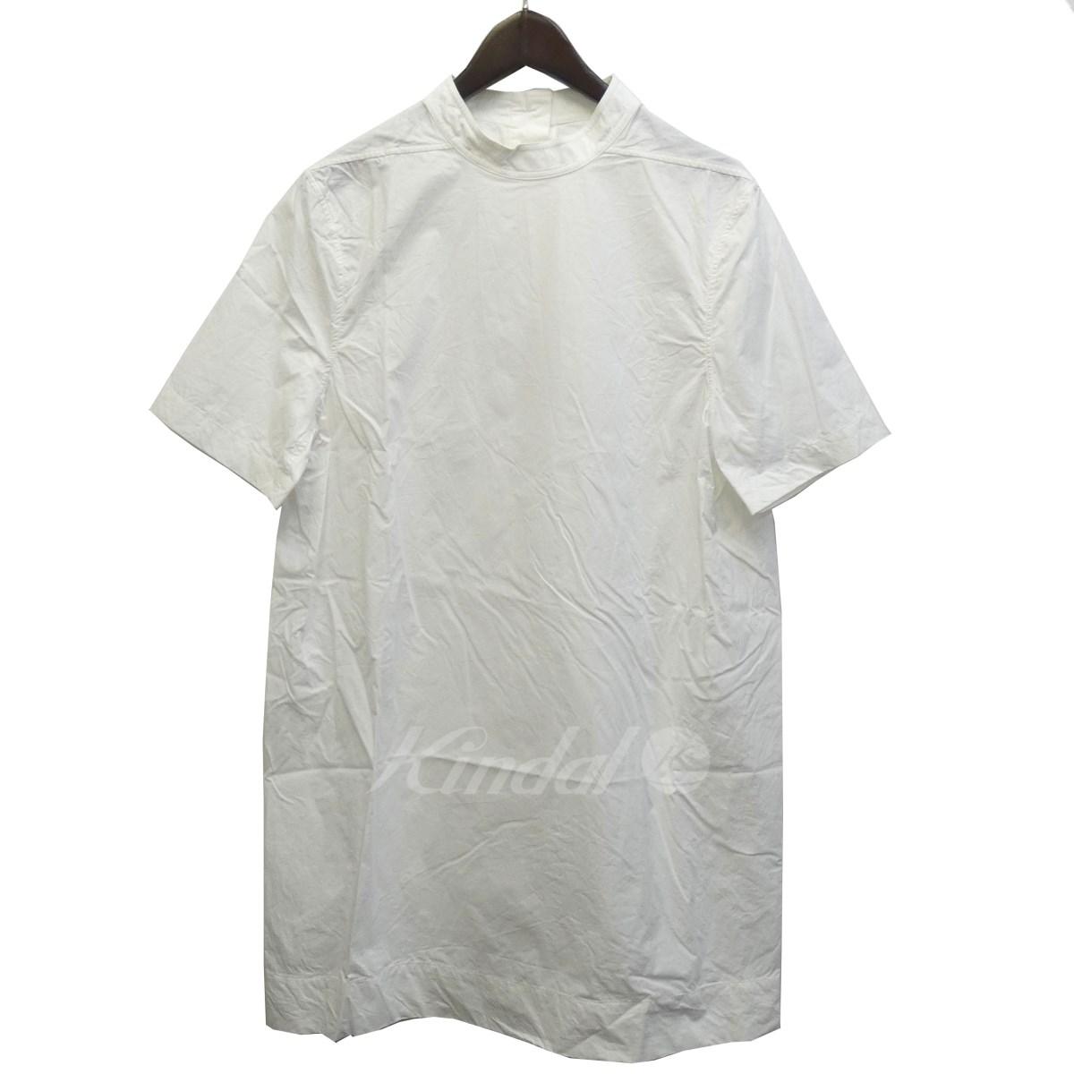 【中古】Rick Owens 17SS オーバーサイズシャツ ミルク サイズ:ITA M 【200419】(リックオウエンス)