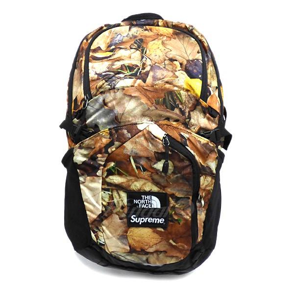 f80566d63 Supreme X THE NORTH FACE 2016AW LEAVES Pocono Backpack leaf pattern  backpack brown size: 31L (シュプリームザノースフェイス)
