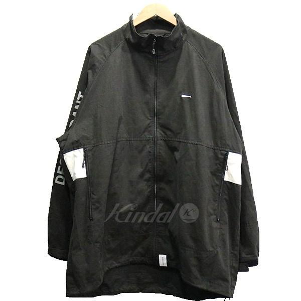 【中古】DESCENDANT 18AW DESCENDANT TERRACE NYLON JACKET ジャケット ブラック サイズ:3 【220419】(ディセンダント)