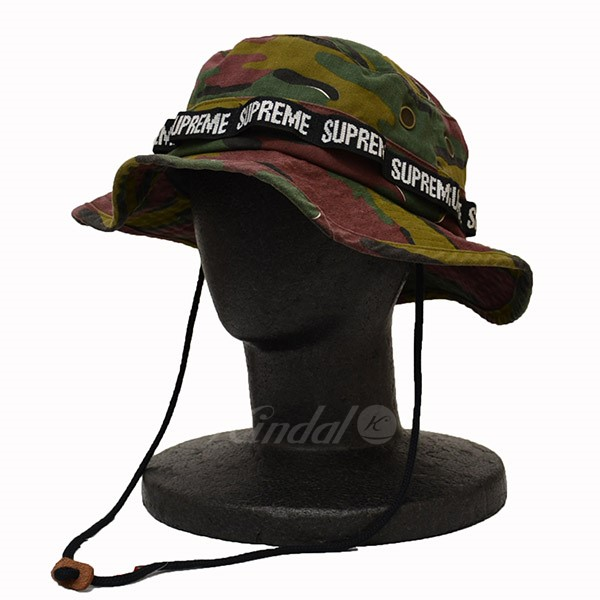 27d066ddc8d Supreme 2018SS Military Boonie Hat camouflage hat camouflage multicolored  size  M L