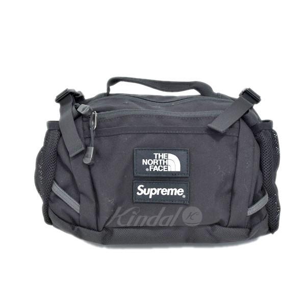 fab0698b5 SUPREME X THE NORTH FACE 18AW Expedition Waist Bag bum-bag black (シュプリーム X  ザノースフェイス)