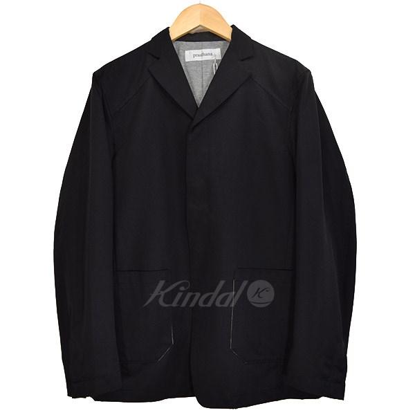【中古】prasthana tech jacket 4Bジャケット ブラック サイズ:1(M) 【270419】(プラスターナ)